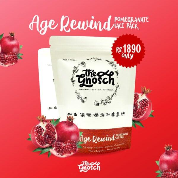 Age Rewind Pomegranate Face Pack